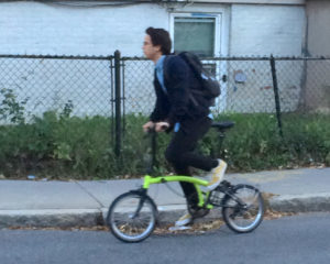 Commuter in North Cambridge