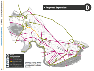 Read why a network of protected bicycle lanes is needed
